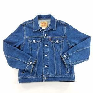 Levi Strauss Levis 57511 Blue Denim Jean Jacket